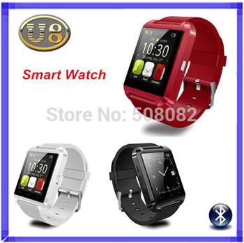 U8 Smart Bluetooth Watch U Watch WristWatch Women Men Sports Watches For iPhone 4S/5S Samsung Android Phone Remote Taking Photo