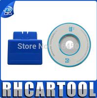 Newest obd2 bluetooth elm327 blue version auto code scanner elm 327 v2.1 free ship