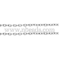 Stock Deals Iron Cross Chains,  Oval,  Come On Reel,  Popular for Jewelry Making,  Important Decoration,  Platinum