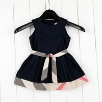 Children dress Clearance 2013 summer brand kids girls dress  top designer kids girls clothing