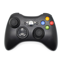 1PC Black Wireless Joystick Game Pad Bluetooth Game Controller For Microsoft Xbox 360 Remote Controller Video Games Accessory