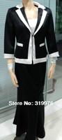 office uniform designs for women- lady's skirt suits  black skirt suits women's skirt suit long skirt suits 150