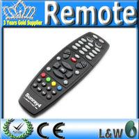 Black remote control for sunray4 800hd se sr4 triple tuner learning remote for digital satellite receiver