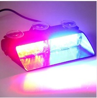 Car Warning Lights VIPER S2 Shovel Chuck Thunder Flashing light Ultra bright escorting auto lighting Laser beam of 16 car lamp