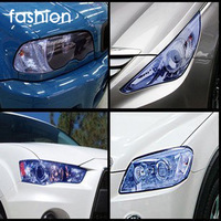 High quality 30x100cm Car Exterior Head Fog Light lamp/headlight taillight Moulding Protection film Free Shipping