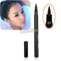 Hot Brown/ Black New Cosmetics Makeup  Not Dizzy  Waterproof Liquid Eyeliner Pencil Free Shipping 7798