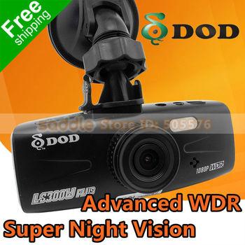 100% Original Car DVR Recorder DOD LS300W with Advanced WDR Super Night Vision + 1080P 30FPS + G-Sensor + F1.6 Big Aperture
