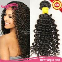 discount human hair weave malaysian hair extension curly 3pcs lot natural black hair Virgin Malaysian Curly Hair