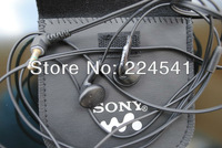 Fasion earbud 3.5mm in-ear earphone hi-fi stereo headphone with stroge bag