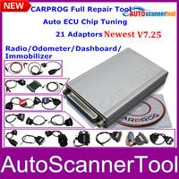 Super A+Quality Carprog Full Programmer  V7.25 Auto Repair Tool For Car Radios/Immobilizer /Odometer/Dashboards High Performance