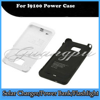 Emergency 2200mAh External Power Case for Samsung Galaxy s2 SII I9100 Battery Charger Black/White 10/pcs Fedex Free  shipping