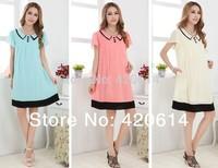 Summer 2014 New Fashion Model Maternity Dress, Brand Shorts Women Slim Plus Size Vestidos Pregnant Top sell Women Clothing 80002