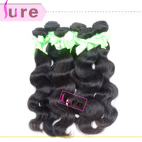Peruvian virgin body wave 3 bundles 5a quality  mixed length  Free shipping