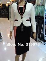 business suits/office uniform designs for women,women's casual suits,women's skirt suits two pieces 2060