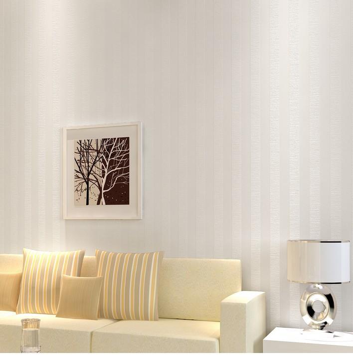Brillante blanco rayas verticales de fondo del papel - Papel pared rayas verticales ...