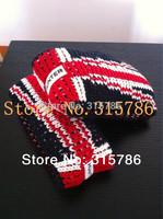 free shipping UK Flag warm knitted rainboots stockings,rain boots stockings