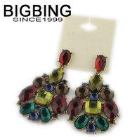BigBIng Fashion  dangle earrings crystal earring  female popular jewelry   free shipping S083