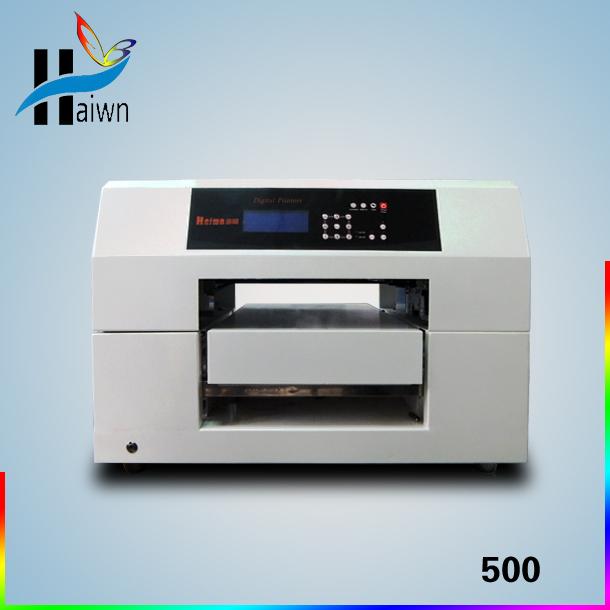 phone case flatbed printer impressora multi functional pvc id card printer golf ball printer leather printer Haiwn-500(China (Mainland))