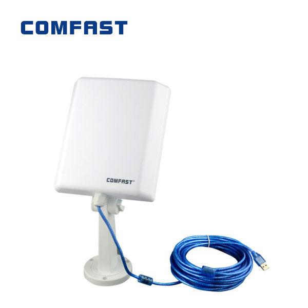 Porte la preuve de l'eau 150 2mbps wifi usb carte réseau sans fil n 802.11/g./b adaptateur lan boîte au détail comfast cf-n5 livraison gratuite