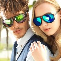 2014 New Women Men oculos de sol Brand Designer Sports Driving Sunglasses Glasses Goggles Reduce Glare Color Film