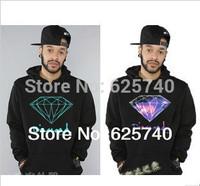 Diamond Supply Co hoodie for men free shipping diamond hip hop hoody brand new 2014 sweatshirt sportswear men clothes pullover