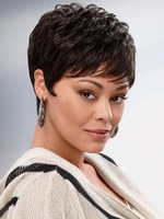 Wavy Chi Short Capless High Quality Synthetic Wig for American Women Free Shipping