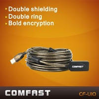 Comfast CF-U10 10M USB extension ling high speed usb cable with usb signal power amplifier free shipping wireless usb adapter