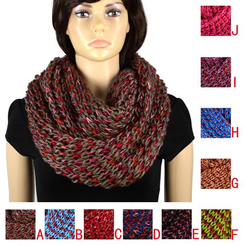 comment tricoter un foulard sans fin