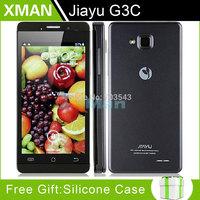 "original JIAYU G3C G3 G3S MTK6582 WCDMA QuadCore Android 4.2 4.5"" IPS Gorillla Glass Screen Phone Flip case Daisy"