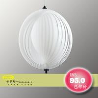 Free shipping acrylic material cheap modern pendant lights e27 white colour free costom logo guaranteed 100%