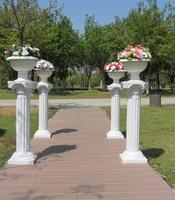 Plastic roman column fashion roman column outdoor wedding props supplies