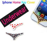 5 pieces / lot Smart Pants undies for iPhone 4/4S/5 / Underwear case for iPhone Smartphone