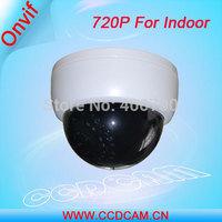 CCTV 1.0 Megapixel 720P at 22fps Mini Dome Camera Indoor IP Security System EC-IP3021