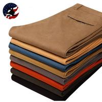 2014 New Arrival ! Fashion Design Cotton Casual Pants Men/Top Grade 7 Colors Luxury Cotton Pants Men/Free Shipping Fashion Men