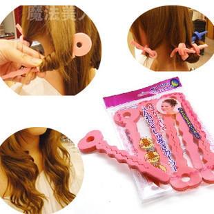 Hair Rollers Foam Curlers Sponge Strip Lady's Hair Accessories-in Hair ...