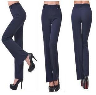New 2014 Quality Brand OL style suits autumn long pants elastic slim pencil pants Trousers Formal Pants Size XXS-5XL women pants