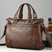 2015 Men's Genuine Leather Handbags Vintage Men Messenger Bags Man Designer Business Computer Bag