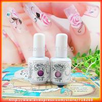 2Pcs/Lot 204Colors 15ML UV Gel Nail Polish Sweet Color China Soak off Polish Cuticle Oil Professional Nails Art Hot Sell
