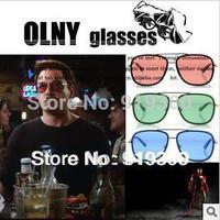 Free Shipping IRON MAN 3 Tony Sunglasses Matsuda Model Brand Designer Personalized Sun glasses Men Sports Sunglasses   # WY22