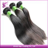 "EVA'S 100% brazilian straight hair Wholesale unprocessed natural silky virgin hair extension 2 pcs/lot 8""-34"" Free Shipping"