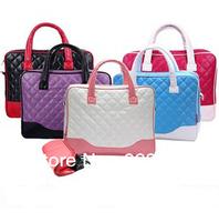 14 inch Brand designer PU leather laptop bags notebook bag messenger shoulder handbag for macbook air pro 13 bag case
