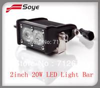 2'' 20w 1424lm Cree LED light bars( BSPL 02AH)