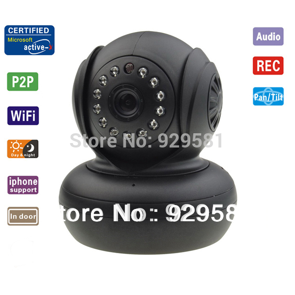 High Quality IP camera WiFi WPA Network Webcam new cheapest p2p wireless CCTV camara IP Internet for home security Surveillance(China (Mainland))