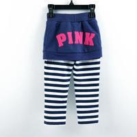 Free shipping G3930# nova girls NEW 2013 fashion rainbow striped leggings/girls cotton long pants