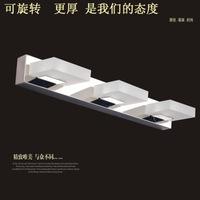 Modern energy-saving high-end minimalist bathroom mirror light bathroom wall lamp new 1002 LED acrylic sink stainless steel lamp