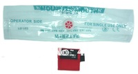 Free Shipping hot selling CPR Mask with Key chain for cpr trainer