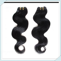 Muse Hair:Hot Selling Brazilian Human Hair Extension Body Wave Cheapest Price #1b10pcs/lot Mix Bundles 50g Queen Hair Quality