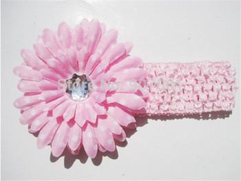 Fashion Baby Headbands Big Flower Lacework Baby Hair Band Beautiful Baby Girl Hair Accessories Infant Headband XM-134