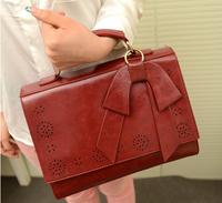 2013 New Fashion Leisure Bowknot Sweet Lady Handbag Women Shoulder Bag,free shipping