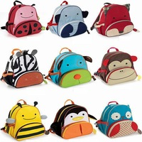 shij new 2013 2014 supernova sale cartoon princess children school bags hot sale canvas backpack Penguin Owl
